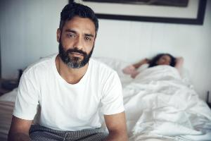 Man with prostatitis after sex